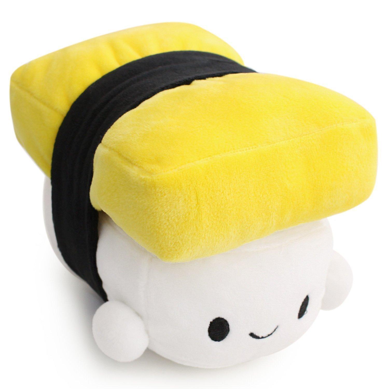 VineCrown Cute Japanese Food Egg Sushi Plush Pillow Cushion