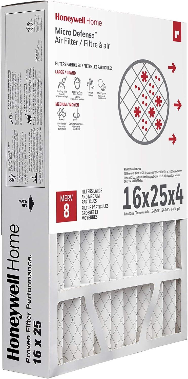 3 Pack Fits Honeywell CF100A1009 Furnace 16x25x4 Air Filter MERV 11