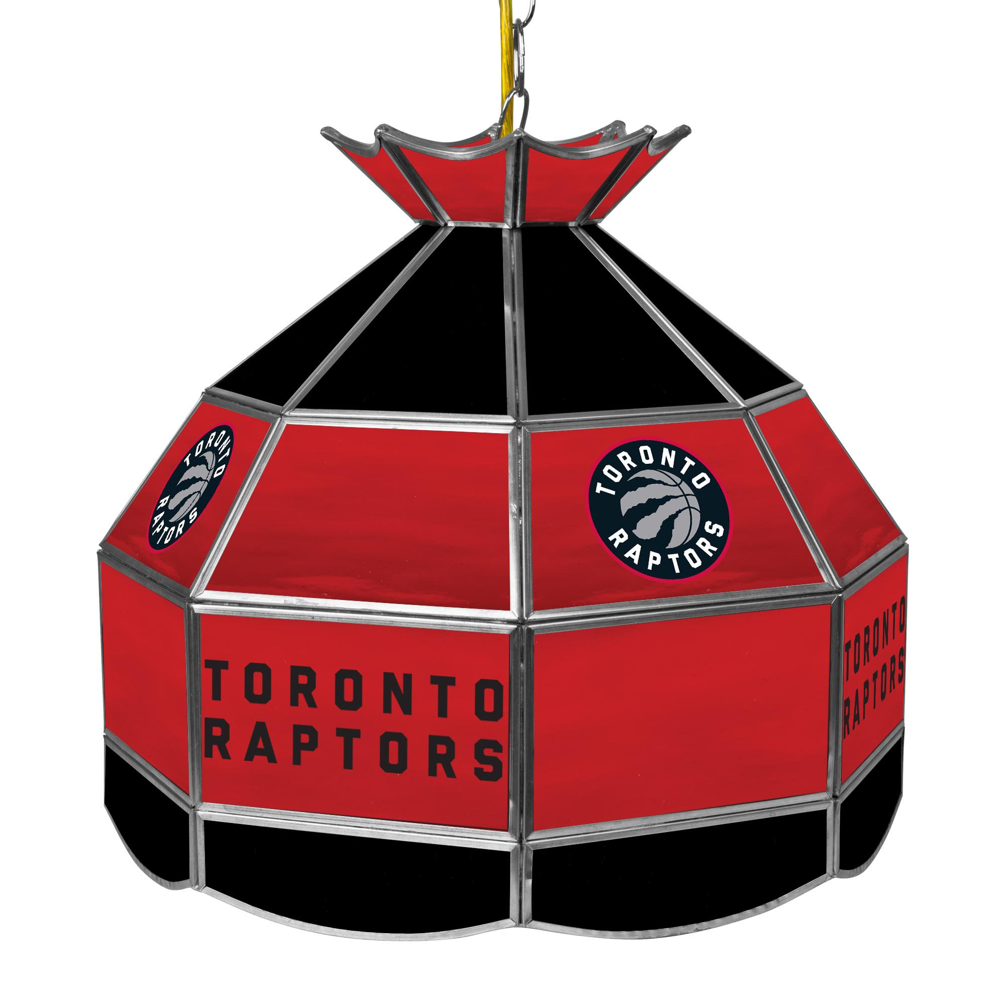 NBA Toronto Raptors Tiffany Gameroom Lamp, 16'' by Trademark Gameroom
