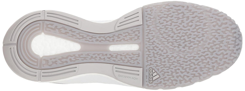 adidas Women's Crazyflight X 2 Volleyball Shoe B077X5S5QK 5 B(M) US|White/Silver Metallic/Grey