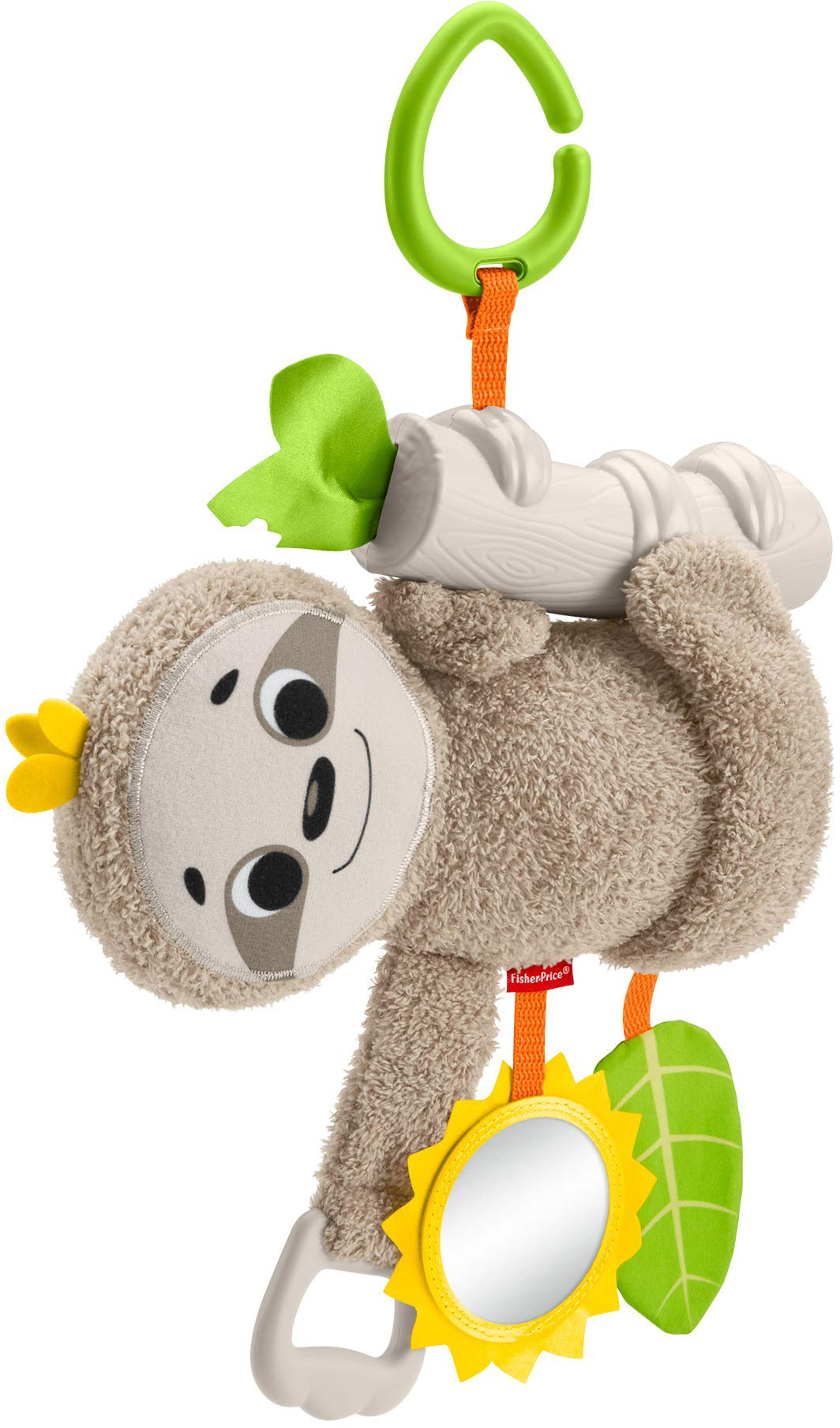 Fisher-Price Slow Much Fun Stroller Sloth by Fisher-Price