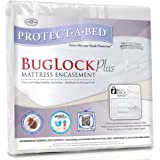 Protect-A-Bed BugLock Plus Bed Bug Mattress Encasement, Queen