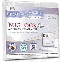 Protect-A-Bed BugLock Plus Bed Bug Mattress Encasement, Queen