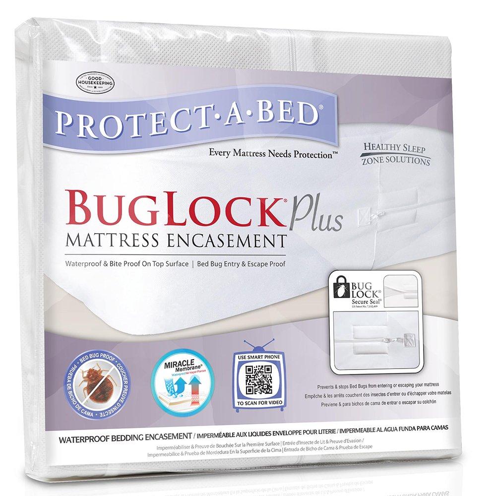 Amazon.com: Protect-A-Bed BugLock Plus Bed Bug Mattress Encasement, Twin XL: Home & Kitchen
