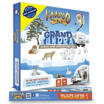 Kaadoo Grand Tundra Arctic Circle Edition Board Game, Multi Color
