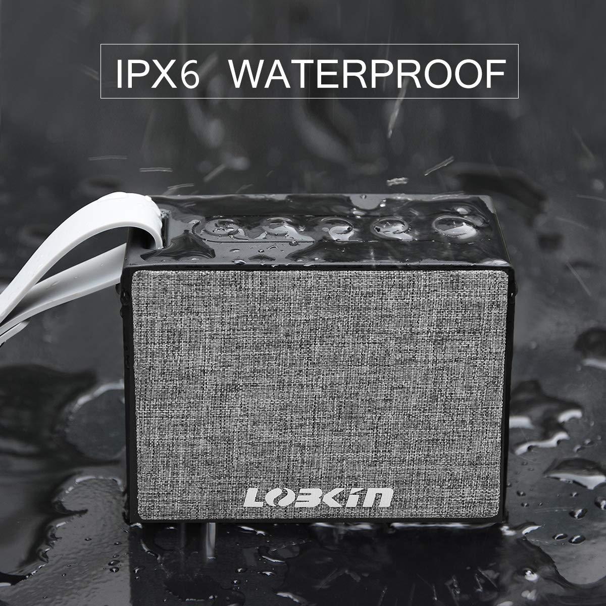 Bluetooth Speakers, Lobkin X9S Ultra Portable Wireless Bluetooth Speaker, Wireless Smart Speaker with Amazon Alexa (BLACK)