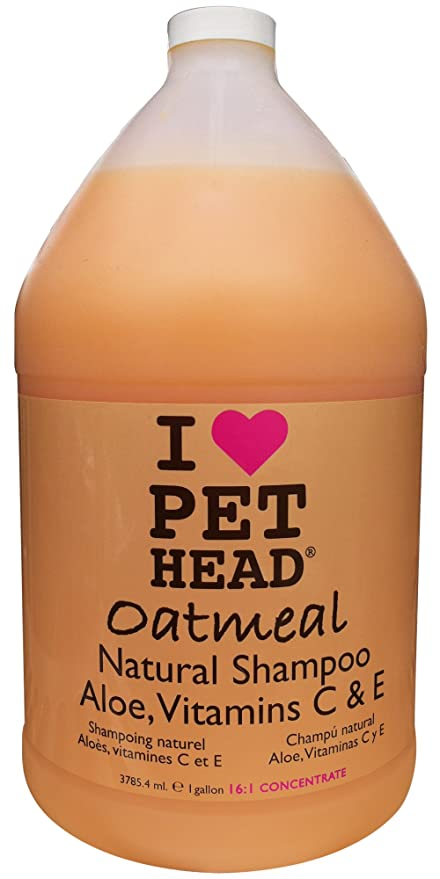 The Company of Animals Pet Head Oatmeal Natural Shampoo (1 Gallon)
