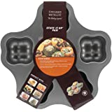 Chicago Metallic Professional 6-Cup Non-Stick 'Stuff It Up' Pan, 14.5-Inch