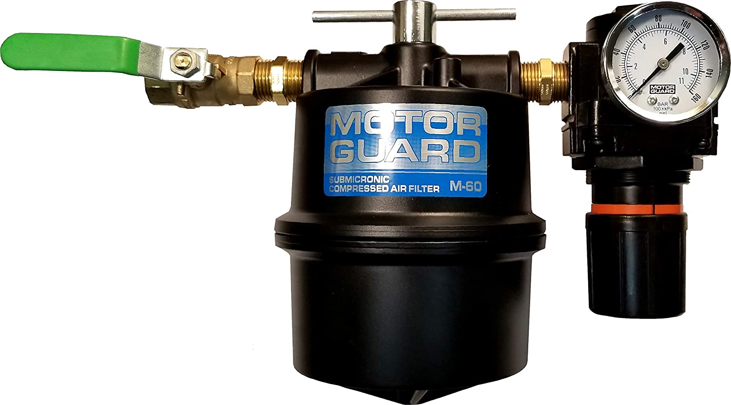 Motor Guard M-60R Compressed Air Filter with Regulator 1//2 NPT