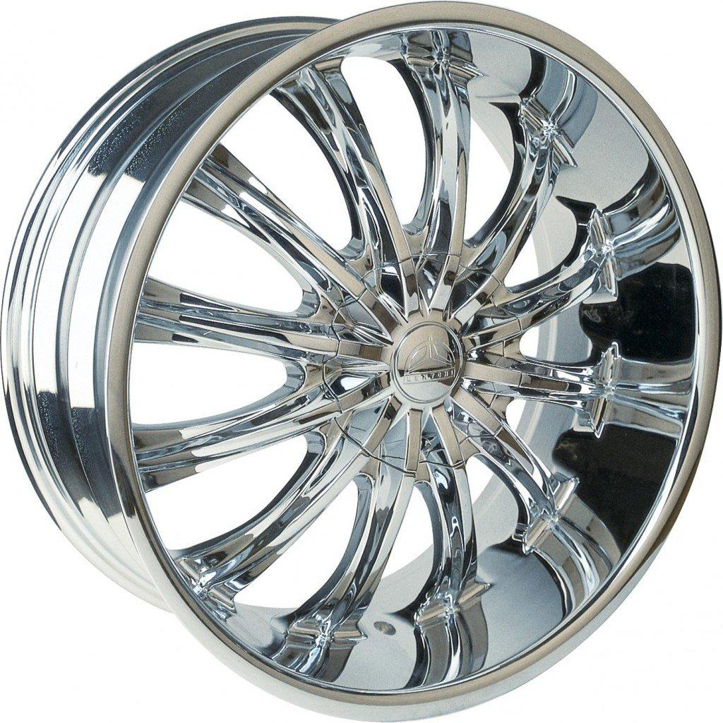 22 Inch Rim And Tire Package >> Amazon Com 22 Inch Borghini B15 Chrome Wheels Tire