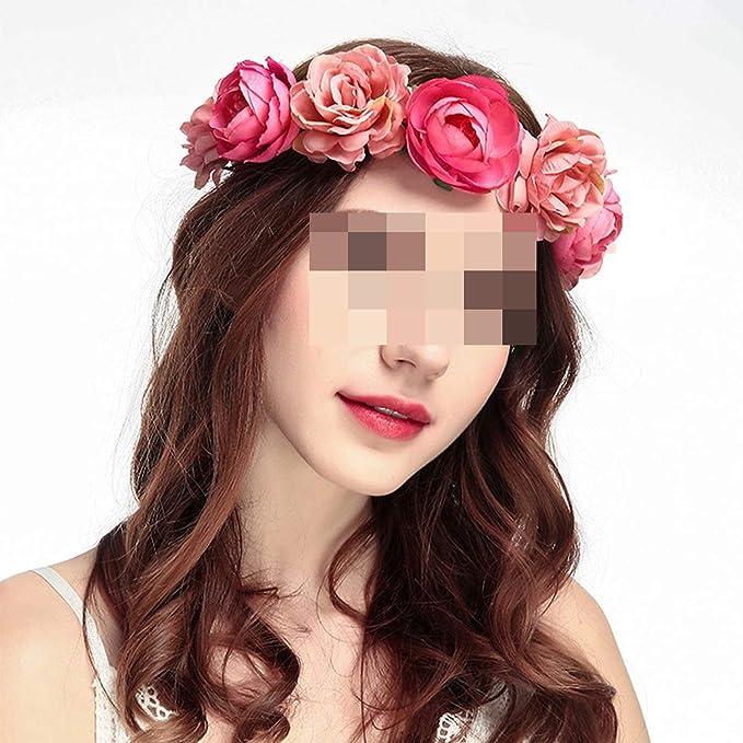 Floral Red Fascinator Headband Flower Girl Bridal Hair Accessories Rustic Wedding Red \u0421hrysanthemum Photo Prop Flower Prom Flower Hair Clip