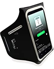 iPhone Plus 8/7/6 Lightweight Running Armband with Extra Pockets for Keys, Cash and Bank Cards. Phone Arm Holder for Sports, Gym Workouts and Exercise