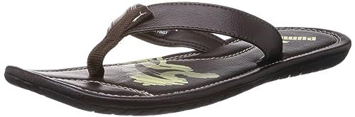 0b2e07078af91d Puma Men s Maze Java and Transparent Yellow Flip Flops and Thong Sandals - 9  UK