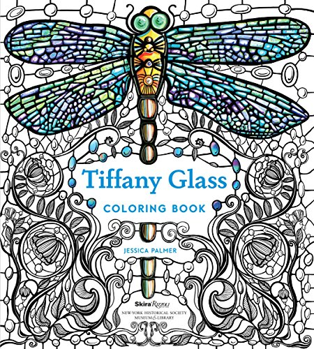 (Tiffany Glass Coloring Book)