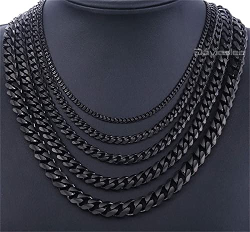 Necklace 80 cm Metal Necklace Metal Chain 3 mm Gold Coloured Necklace Chain