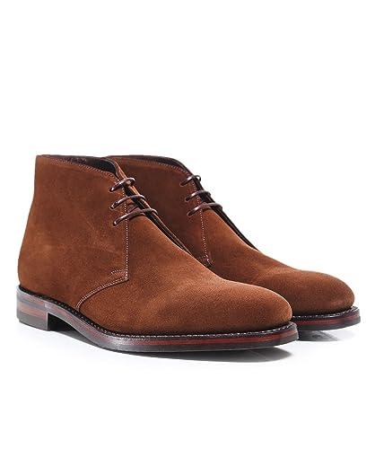 Loake Men's Suede Pimlico Chukka Boots Brown