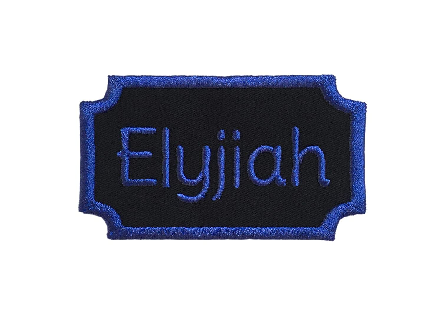 Custom Embroided Name Plate/Patch Applique Tag - Iron Or Sew On - Choose Your Thread Color!