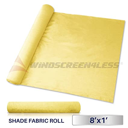 Amazon.com: Windscreen4less tejido para bloquear luz solar ...