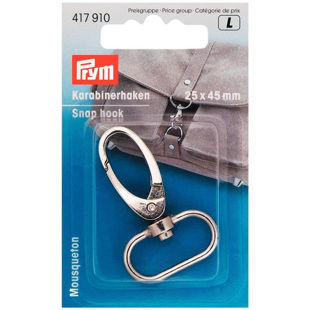 Prym 25 mm Snap Hook, Silver PRYM_417910-1