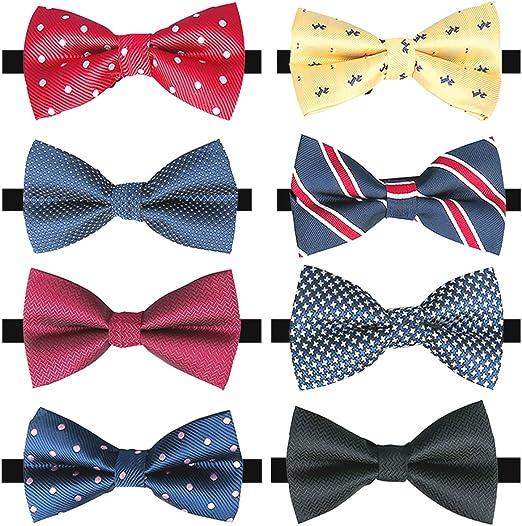 Formal Love Heart Patterns Adjustable Men Boy Neck Tie Bowties Gift