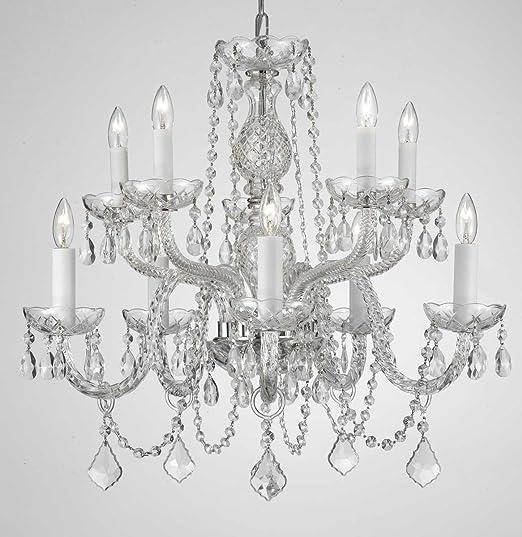Chandelier Lighting Empress Crystal Tm Chandeliers H25 X