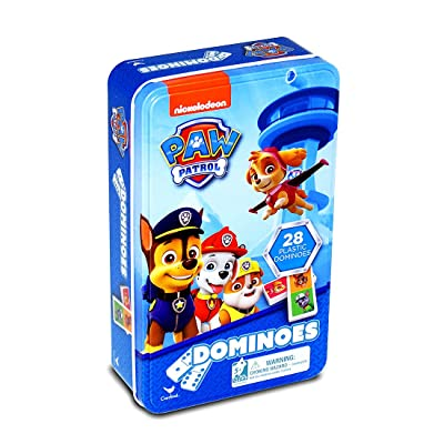 Nickelodeon PAW Patrol Dominoes Tin: Toys & Games