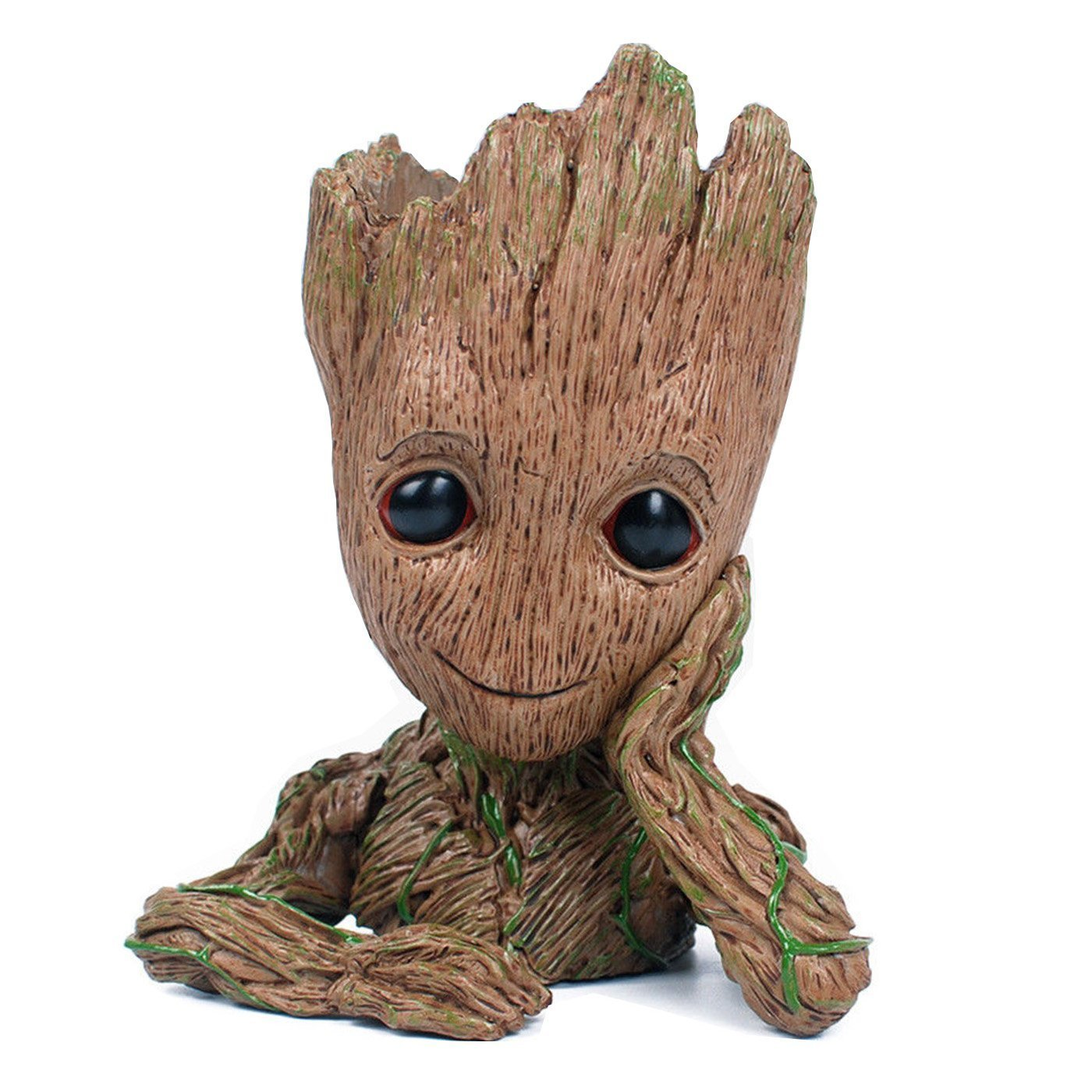 Happy_eshop Groot Action Figures Guardians of The Galaxy Flowerpot Baby Cute Model Toy Pen Pot Best Gift 6.3 Tong Ji Ying Tong Co. Ltd