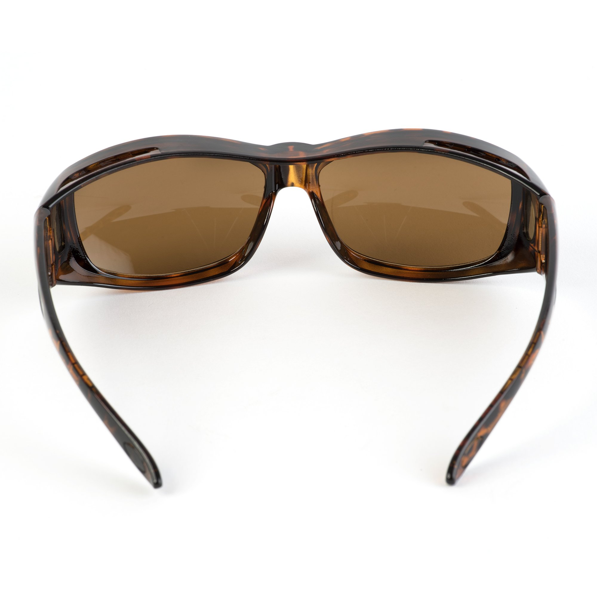 Over Glasses Sunglasses - Fitover Sunglasses with 100% UV Protection - By Pointed Designs (Leopard) by Pointed Designs (Image #5)