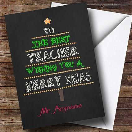 Mejor profesor Árbol de Navidad Vacaciones de Navidad ...