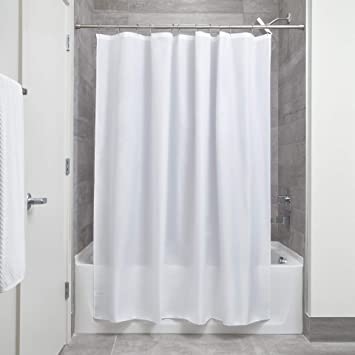 Cool Fabric Shower Curtains For Interdesign Waterproof Mold And Mildewresistant Fabric Shower Curtain 72inch By 72 Amazoncom