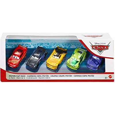 Disney Pixar Cars Piston Cup Race 5-Pack with First Look Next-Gen Racer Leak Less #52: Toys & Games