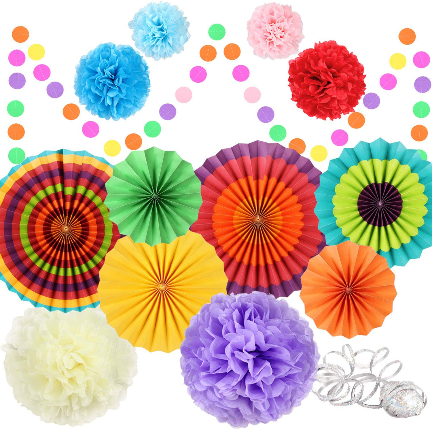 Amazon Fiesta Party Decorations Party Supplies Hanging Paper