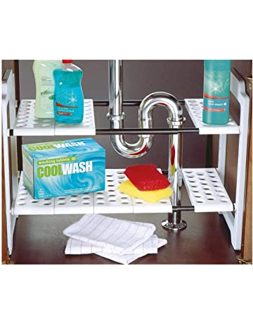 Under Sink Storage: Home & Kitchen: Amazon.co.uk on drawers under kitchen sink, paint under kitchen sink, cleaning under kitchen sink, plumbing under kitchen sink, storage under kitchen sink, painting under kitchen sink, curtains under kitchen sink, electrical under kitchen sink,