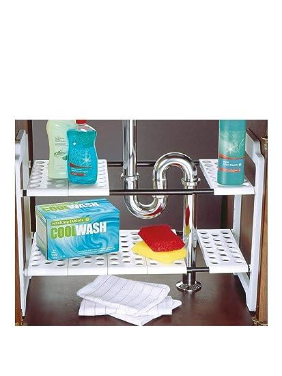 addis under sink storage amazon co uk kitchen home rh amazon co uk under sink kitchen storage unit under kitchen sink storage drawer