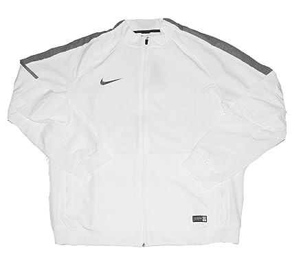 : Nike FC Mens Full Zip Stretch Knit Soccer Jacket