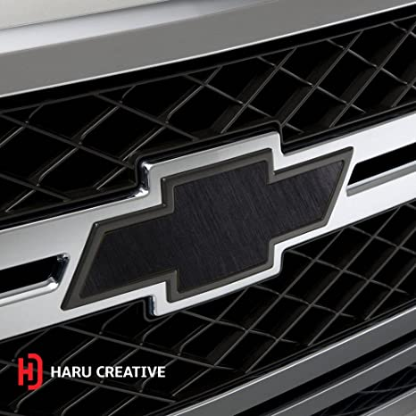 "2 Large Rolls Haru Creative Matte Red Chevy Emblem Overlay Decal Sticker Kit 7.5/""X11.5/"""