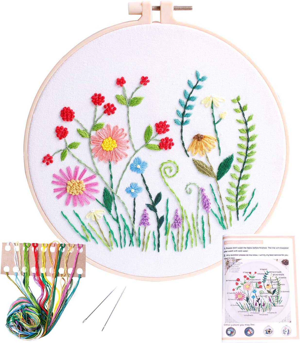 English Embroidery kit George S embroidery kit - George S