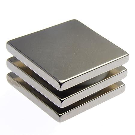 "5 of 1/"" x 1//8/"" Powerful Neodymium Disc Magnets Strong Rare Earth 25mm 3mm NIB"