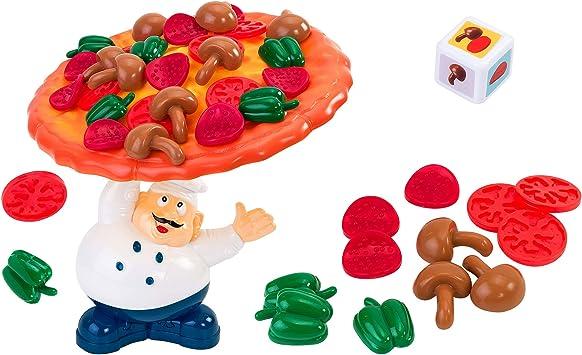 Family Games - Juego Pizza en Equilibrio (Globo 38036): Amazon.es: Juguetes y juegos