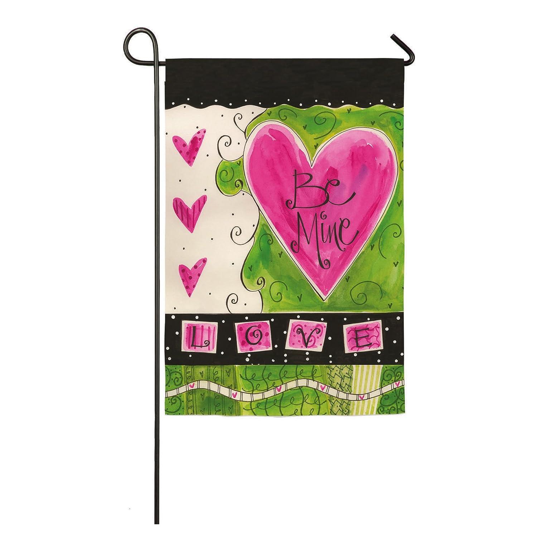 Be My Valentine Garden Flags | Valentine\'s Day Wikii