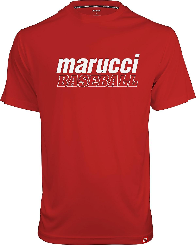 Marucci APPAREL メンズ B0767NT1B5 Medium|レッド レッド Medium
