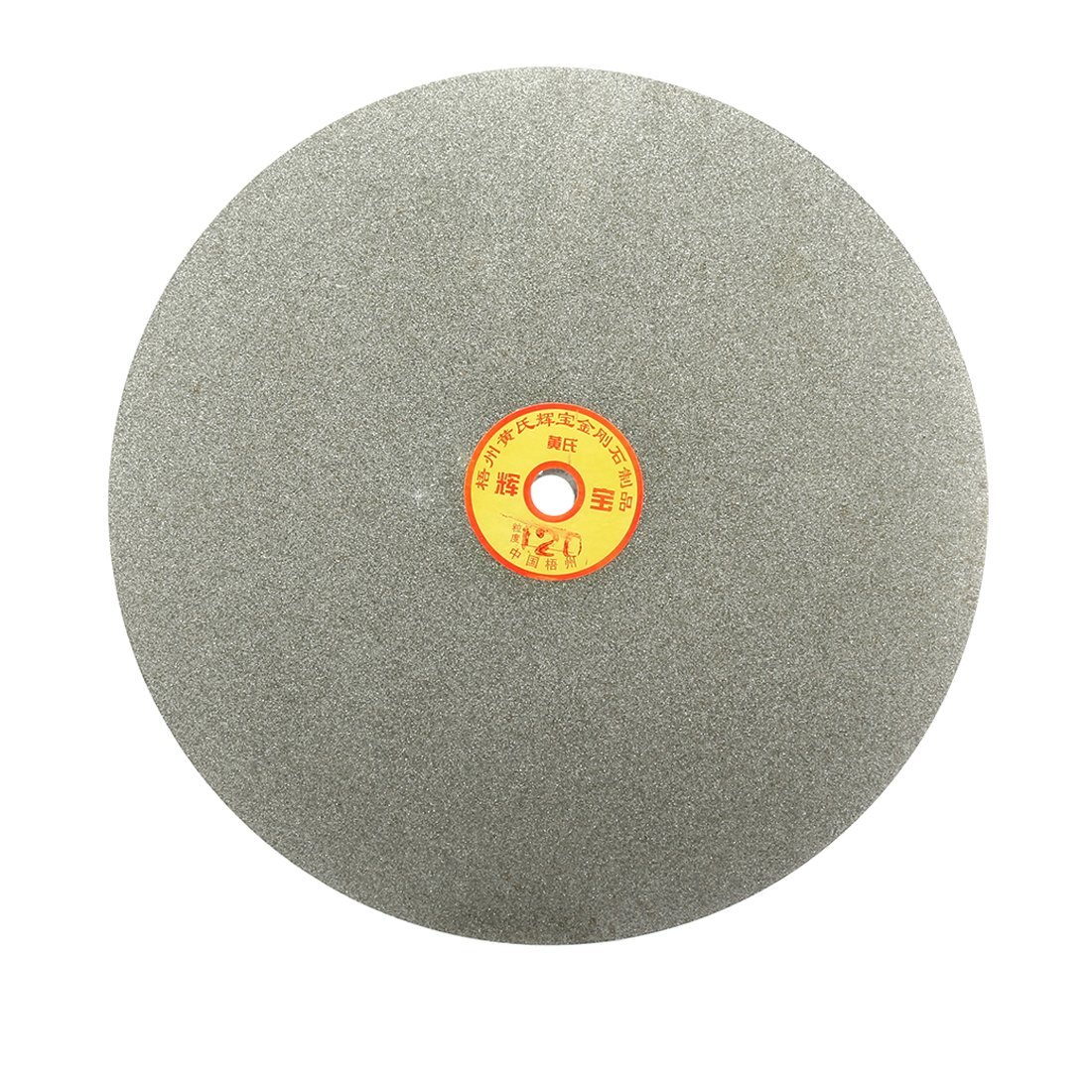 uxcell 250mm 10-inch Grit 120 Diamond Coated Flat Lap Disk Wheel Grinding Sanding Disc
