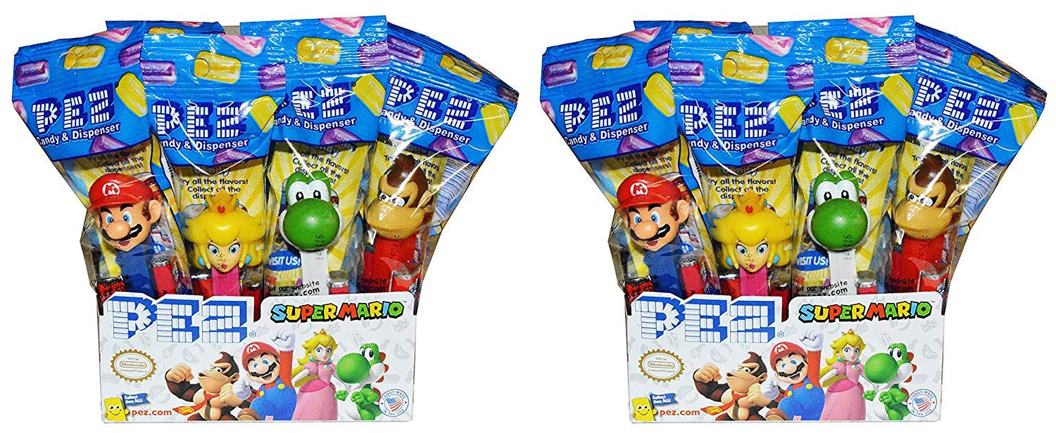Pez Nintendo Super Mario Dispensers (24 Pack) by PEZ Candy (Image #1)