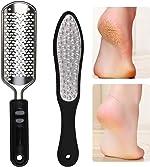 Oneleaf 2PCS Professional Pedicure Rasp Foot File Cracked Skin Corns Callus