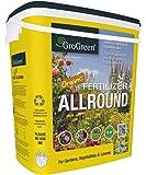 GroGreen® Organischer Bio Universaldünger 4-3-2 +1 % Mg + 9% Ca, 7,5 kg Eimer