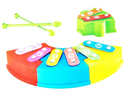 Musical Toys For 1 Year Olds : Buy vivir high quality rainbow musical block xylophone toys for kids