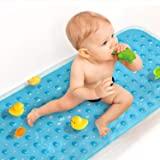 Sheepping Upgrade Baby Bath Mat Non Slip Extra Long Bathtub Mat for Kids 40 X 16 Inch - Eco Friendly Bath Tub Mat with…