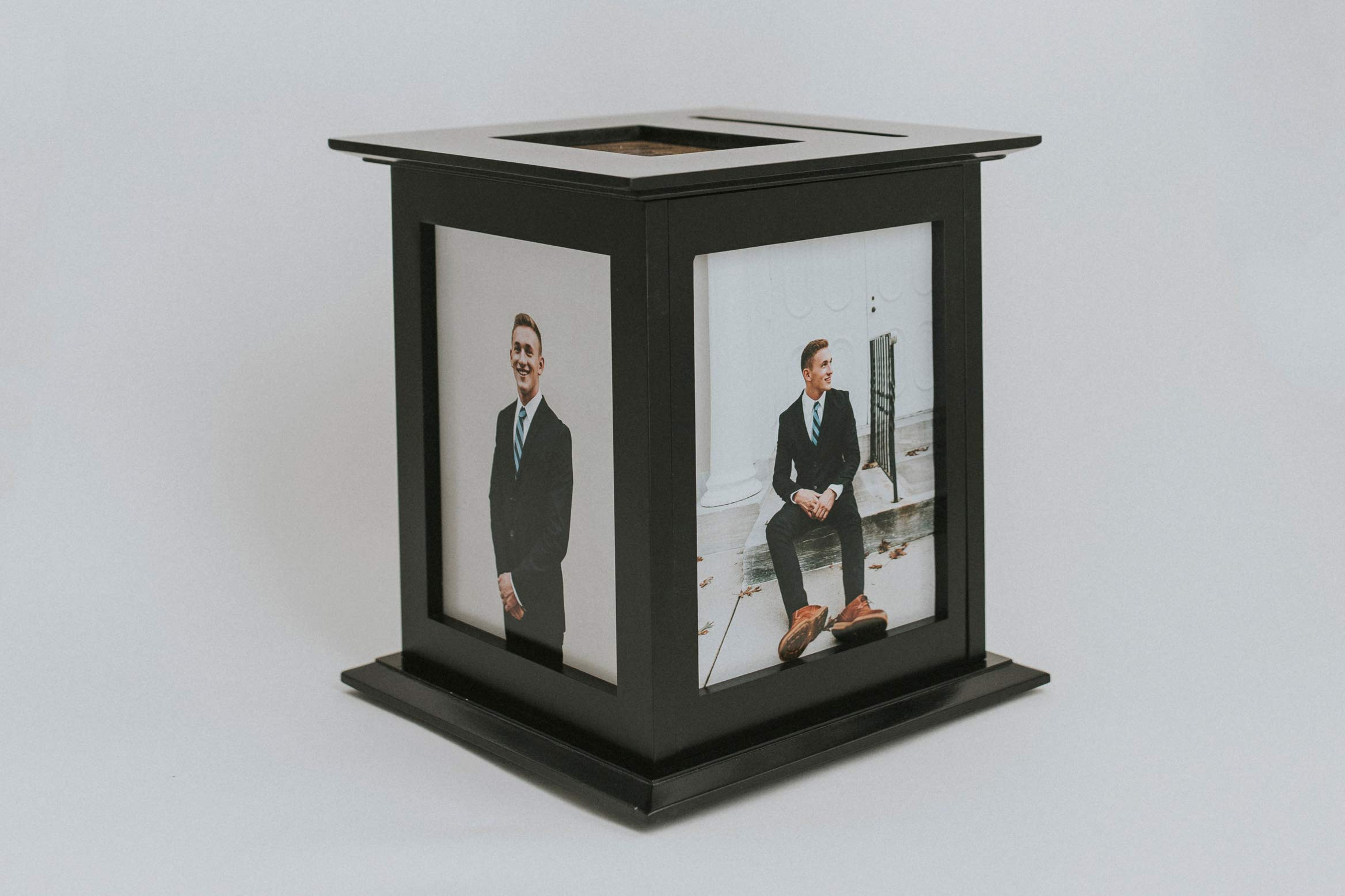 Wedding Card Box - Rotating The Perfect Card Box In Black
