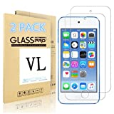 Amazon Price History for:iPod Touch Screen Protector, VL [Tempered Glass] for Apple iPod Touch 6th, 5th Generation, [Scratch Resist] [Bubble-Free] 0.2mm Ultra Thin 9H Hardness High Definition Premium Tempered Glass (2 PACK)