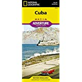 National Geographic Adventure Map Cuba North America